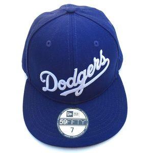 Los Angeles Dodgers Script New Era Royal Blue Hat